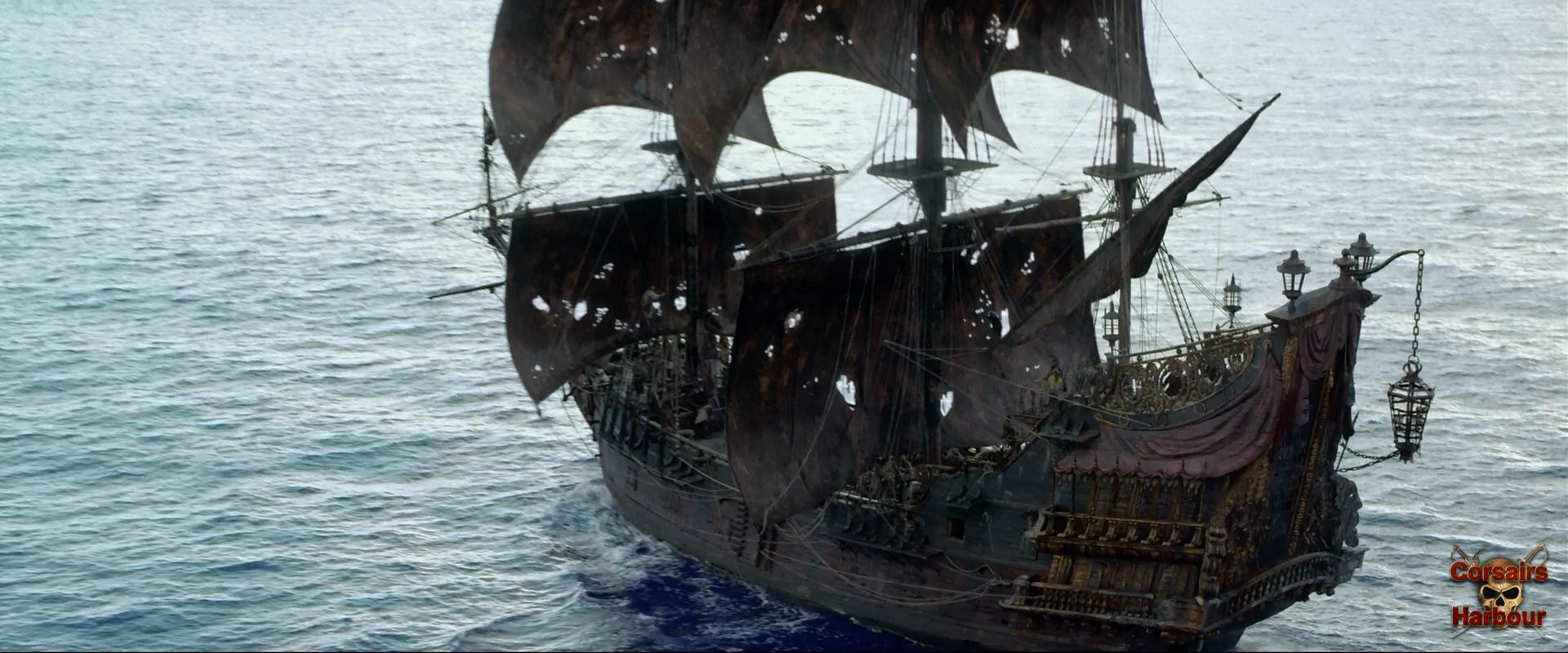 Пираты карибского моря: на странных берегах - кадры - гавань.